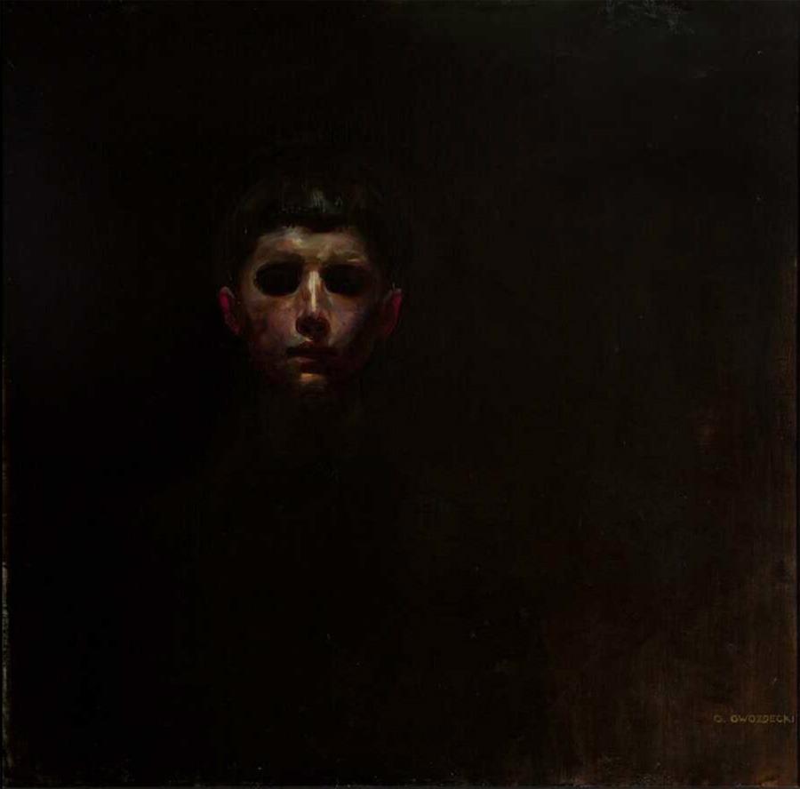 Boy's Head by Gustaw Gwozdecki (1904)
