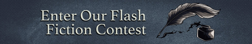 Flash Fiction Contest banner